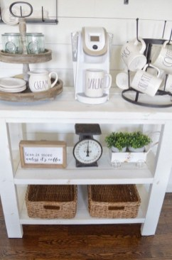 Fantastic DIY Coffee Bar Ideas For Your Home 42