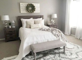Gorgeous Farmhouse Bedroom Remodel Ideas On A Budget 47