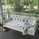 Impressive Porch Swing Ideas To Get Comfort In Relaxing 39