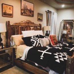 Modern Rustic Master Bedroom Design Ideas 02