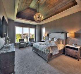 Modern Rustic Master Bedroom Design Ideas 21