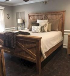 Modern Rustic Master Bedroom Design Ideas 33
