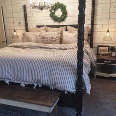 Modern Rustic Master Bedroom Design Ideas 43