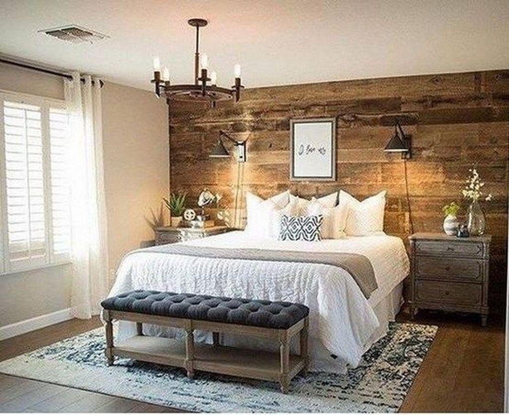 12+ Modern Rustic Master Bedroom Design Ideas - LOVAHOMY