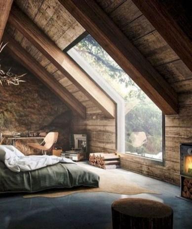 Modern Rustic Master Bedroom Design Ideas 48