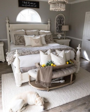 Modern Rustic Master Bedroom Design Ideas 49
