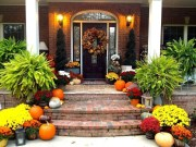 Perfect Fall Outdoor Decoration For Your Inspiration 16