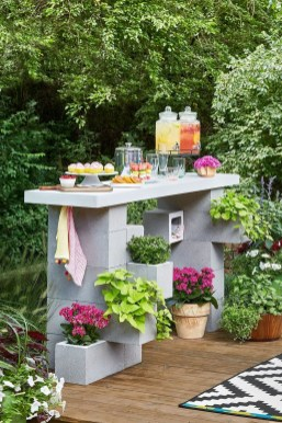Unusual DIY Outdoor Bar Ideas On A Budget 07