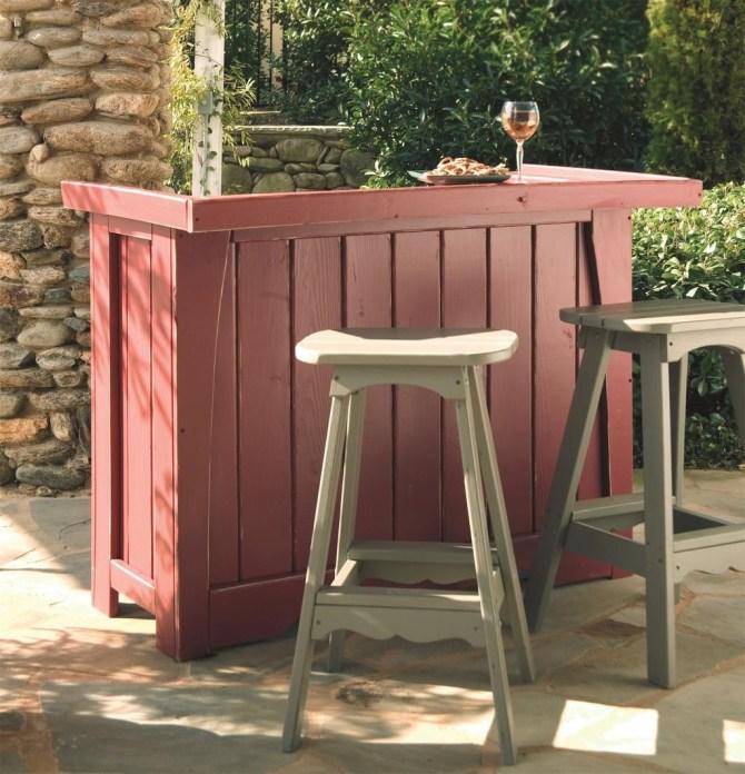 Unusual DIY Outdoor Bar Ideas On A Budget 14