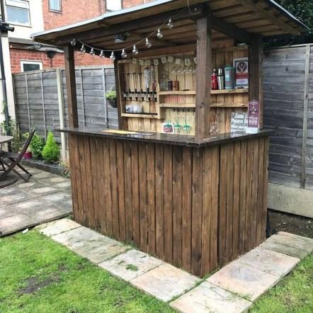 Unusual DIY Outdoor Bar Ideas On A Budget 19