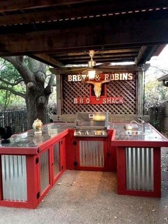 Unusual DIY Outdoor Bar Ideas On A Budget 20