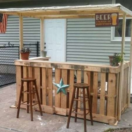 Unusual DIY Outdoor Bar Ideas On A Budget 22