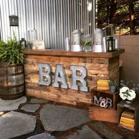 Unusual DIY Outdoor Bar Ideas On A Budget 24