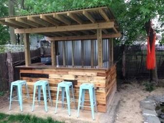 Unusual DIY Outdoor Bar Ideas On A Budget 35
