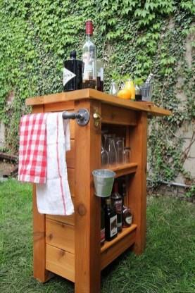 Unusual DIY Outdoor Bar Ideas On A Budget 45