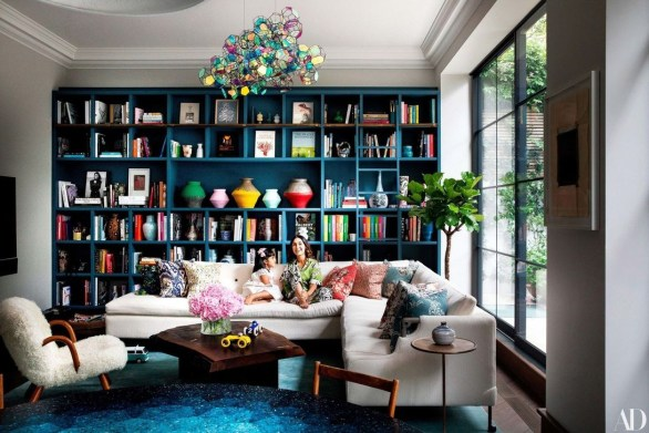 Adorable Colorful Pillow Ideas For Cozy Living Room 07