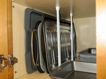 Best RV Kitchen Storage Ideas For Cozy Cook When The Camping 27