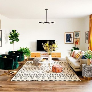 Charming Living Room Design Ideas For Sweet Home 15