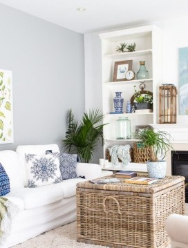 Charming Living Room Design Ideas For Sweet Home 34