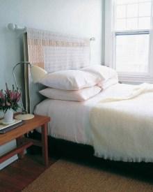 Creative DIY Bedroom Headboard To Make It More Comfortable 13
