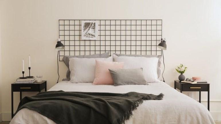 Creative DIY Bedroom Headboard To Make It More Comfortable 14