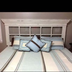 Creative DIY Bedroom Headboard To Make It More Comfortable 20