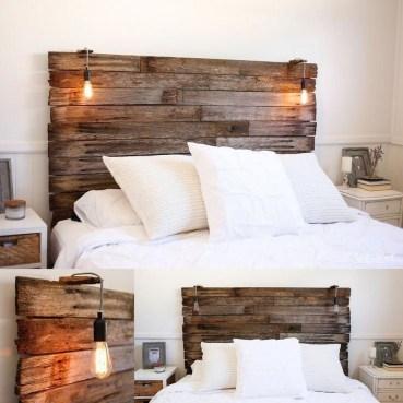 Creative DIY Bedroom Headboard To Make It More Comfortable 29