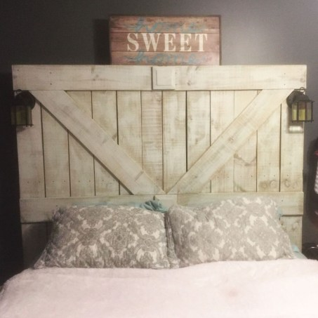 Creative DIY Bedroom Headboard To Make It More Comfortable 40
