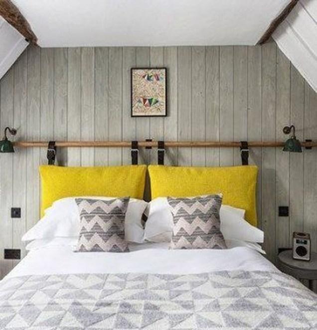 Creative DIY Bedroom Headboard To Make It More Comfortable 50
