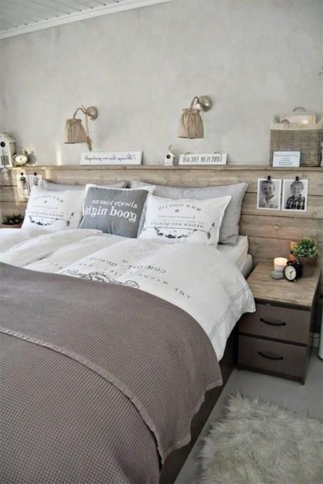 Creative DIY Bedroom Headboard To Make It More Comfortable 52