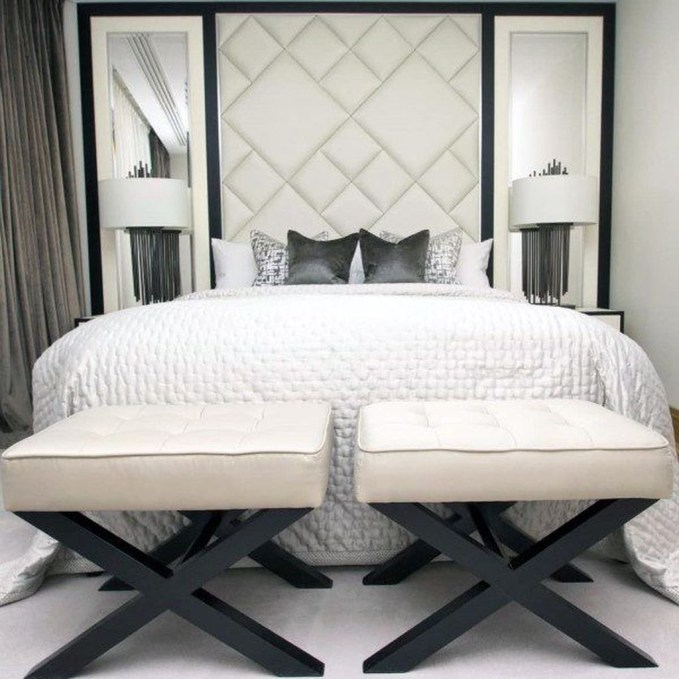 Creative DIY Bedroom Headboard To Make It More Comfortable 53