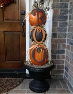Cute Halloween Pumpkin Decoration Ideas For More Fun 28