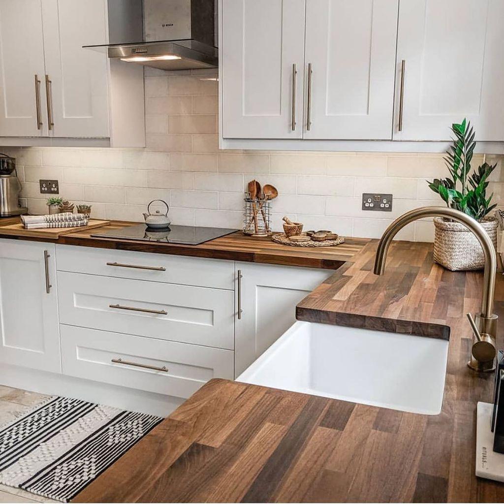 30 Elegant Modern Kitchen Decoration Ideas That Trend For 2019 Lovahomy