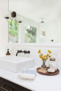 Gorgeous Bathroom Accesories Ideas For Comfortable Bathing 22