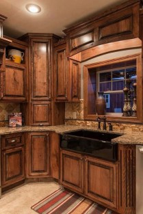 Wonderful Kitchen Cabinets Ideas For Your Tiny House 02