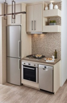 Wonderful Kitchen Cabinets Ideas For Your Tiny House 14