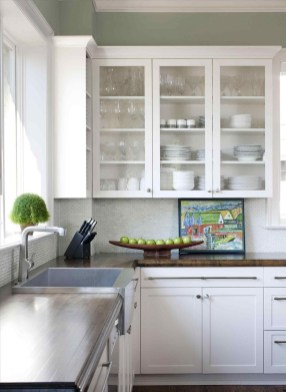 Wonderful Kitchen Cabinets Ideas For Your Tiny House 18