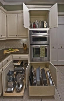 Wonderful Kitchen Cabinets Ideas For Your Tiny House 31