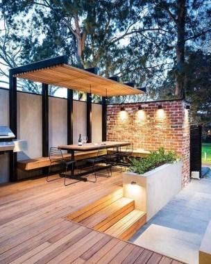 Amazing Design Ideas To Beautify Your Backyard 43