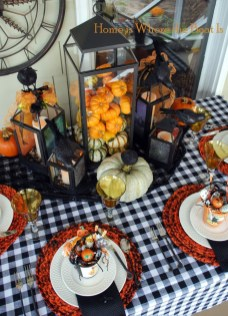 Astonishing Halloween Table Decoration That Perfect For This Year 50