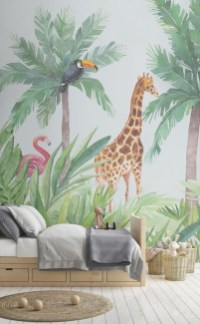 Awesome Child's Room Ideas With Wall Decoration 02