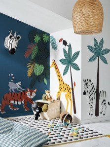 Awesome Child's Room Ideas With Wall Decoration 29