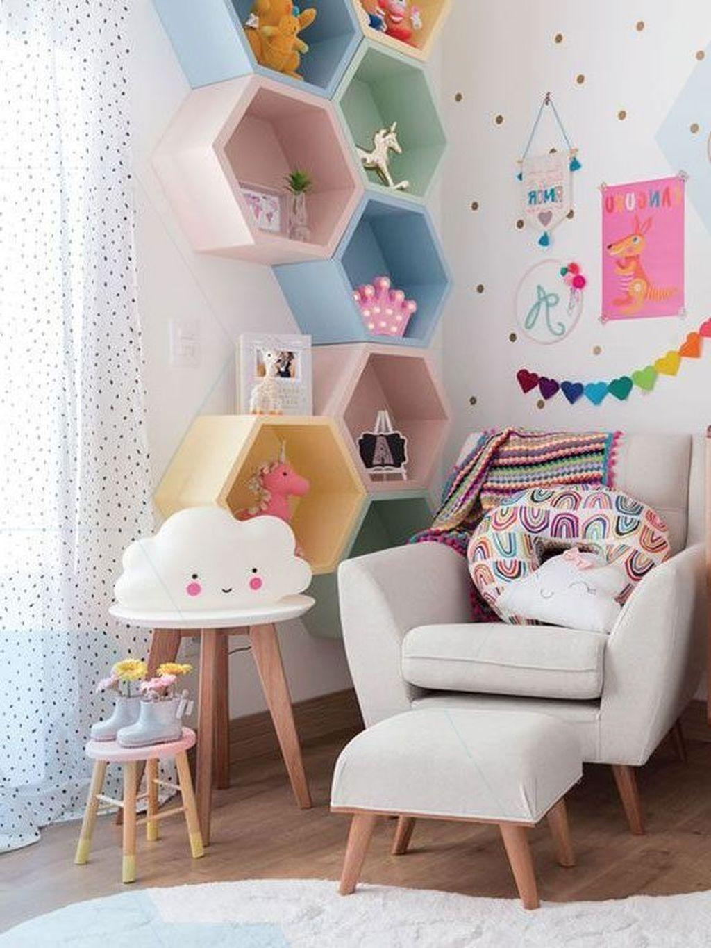 Decorar paredes en habitaciones infantiles