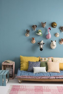 Awesome Child's Room Ideas With Wall Decoration 44