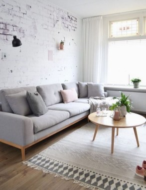 Cute Monochrome Living Room Decoration You Must Have 08