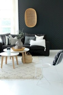 Cute Monochrome Living Room Decoration You Must Have 10