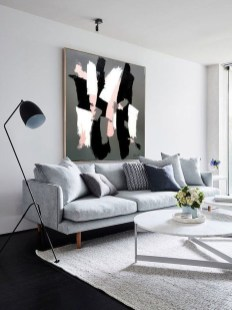 Cute Monochrome Living Room Decoration You Must Have 14