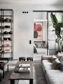 Cute Monochrome Living Room Decoration You Must Have 19