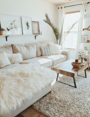 Cute Monochrome Living Room Decoration You Must Have 24