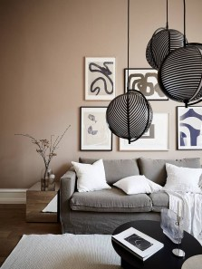 Cute Monochrome Living Room Decoration You Must Have 32